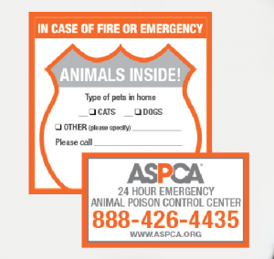 FREE Pet Rescue Stickers for your house   beingstray.com