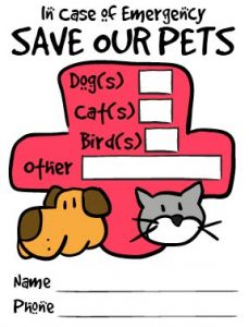Free Pet Rescue stickers