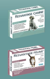 Resvantage for cats and dogs with cancer